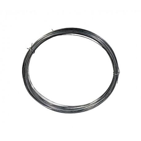 Drut sprężynowy czarny 0,4 mm- 10m