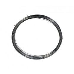 Drut sprężynowy czarny 0,7 mm- 10m