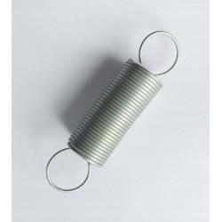 Sprężyna naciągowa nr 86 wym. 1,2x16,7x72 mm