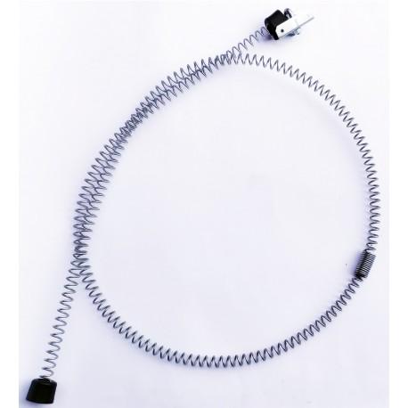 Hamulec tyrolka zestaw do zjazd linowy ocynk 2m na linę do 11 mm